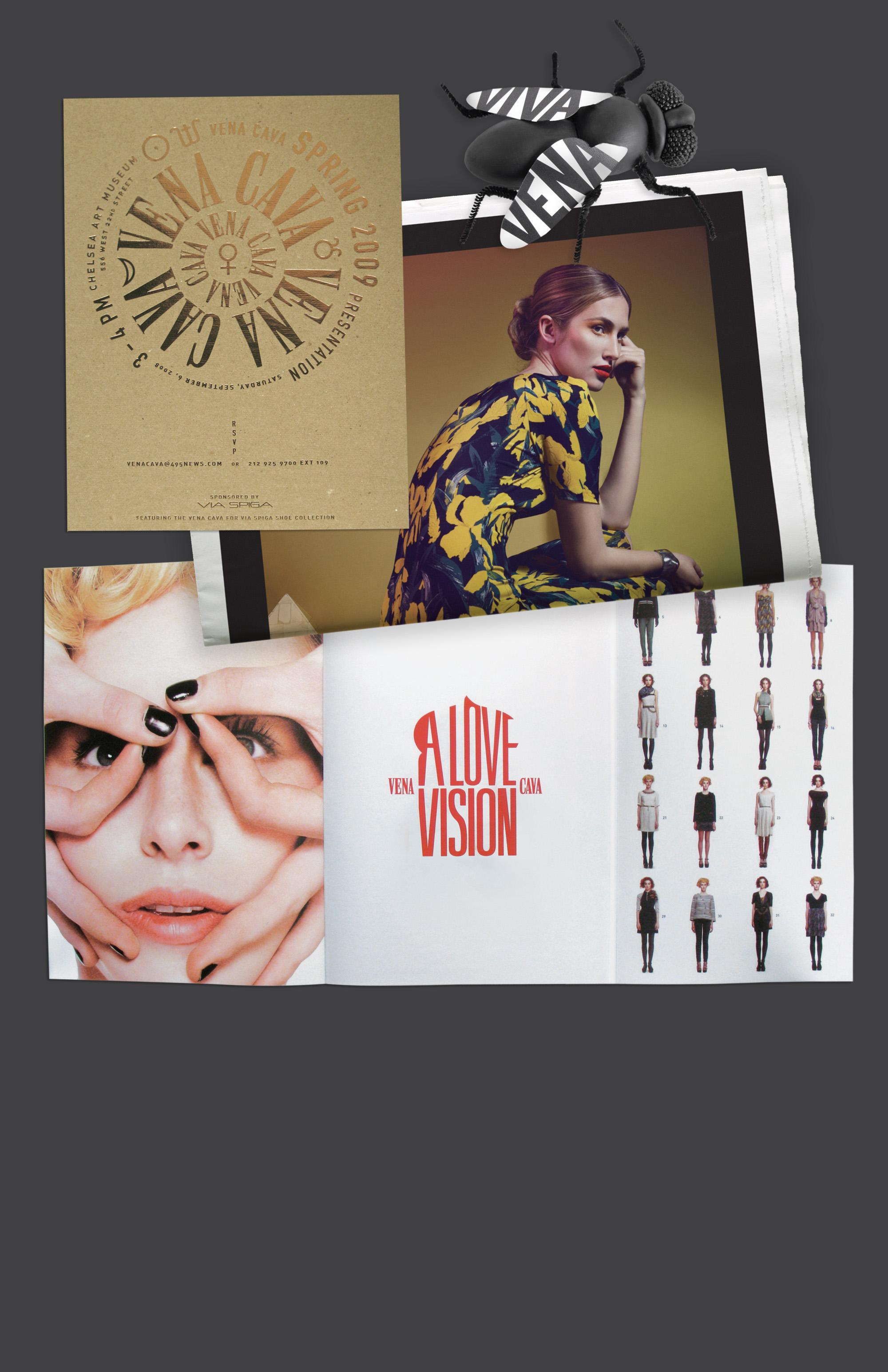 Vena Cava ads and collateral designed by Scissor.