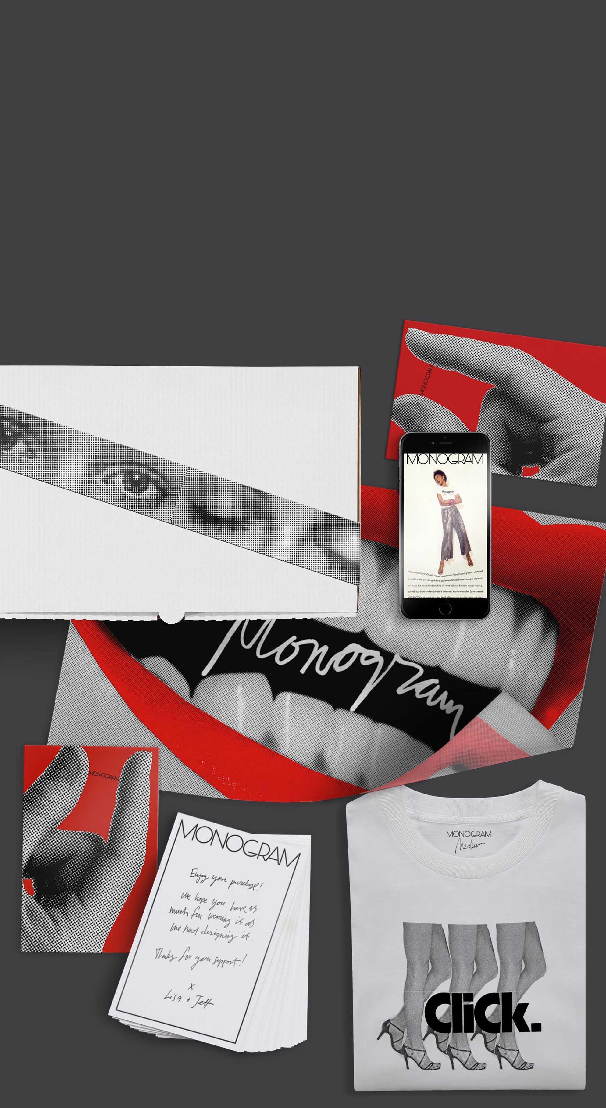 Monogram graphic design by Scissor.